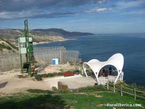 Balcón al Mediterraneo junto a la frontera. Melilla - Melilla, Melilla, Melilla