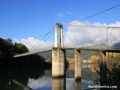 Pasarela de penouta. Vilamartin, Orense - Vilamartin, Orense, Galicia