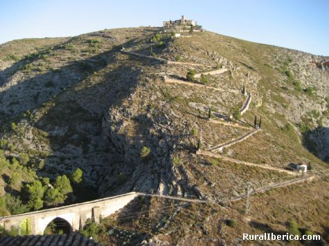 Puente y ermita del Sant Crist. Bocairent, Valencia - Bocairent, Valencia, Comunidad Valenciana