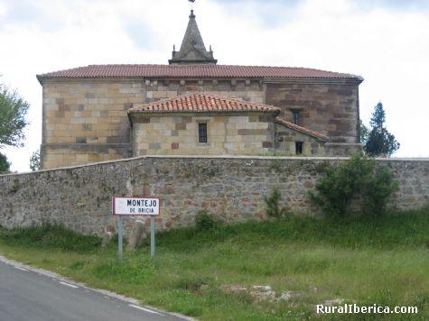Entrada al pueblo. Montejo de Bricia, Burgos - Montejo de Bricia, Burgos, Castilla y León