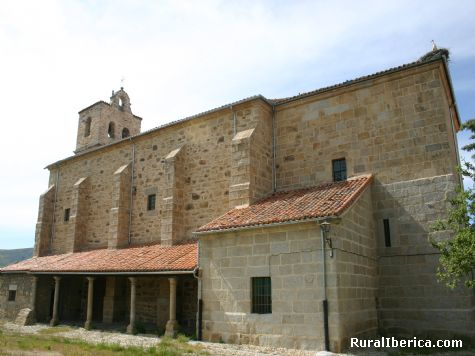 TOMA IGLESIA - SAN MARTIN DE LA VEGA DEL ALBERCHE, Ávila, Castilla y León