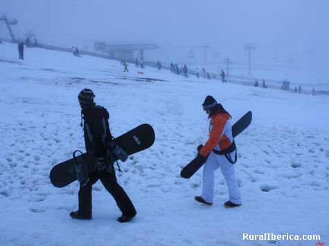 snowboard  - Manzaneda, Orense, Galicia