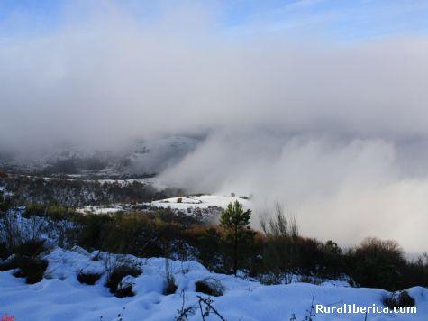 Nieve en Mones - Mones, Orense, Galicia