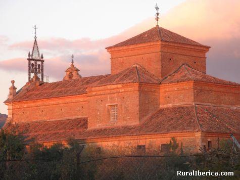 Puesta de sol, convento de Hervás, Cáceres - Hervás, Cáceres, Extremadura