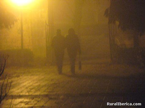 Paseando con niebla por el parque Herv�s, C�ceres - Herv�s, C�ceres, Extremadura