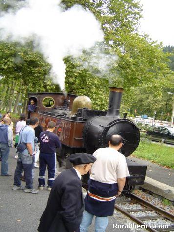 museo de ferrocarril - Azpeitia, Guipúzcoa, País Vasco