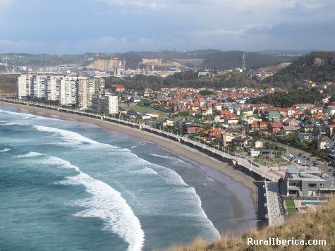 Fotos playa de salinas avil s asturias - Hoteles en salinas asturias ...