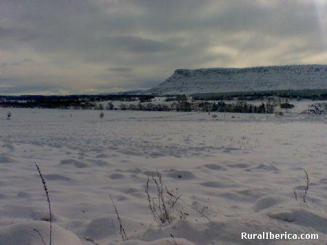 Pico Frentes visto desde Pedrajas - Soria, Soria, Castilla y León