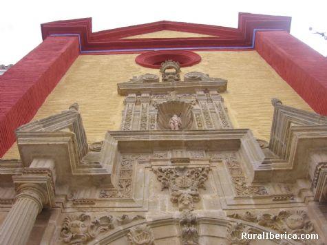 Iglesia  S. Sebastián. Cañete la Real, Málaga - Cañete la Real, Málaga, Andalucía