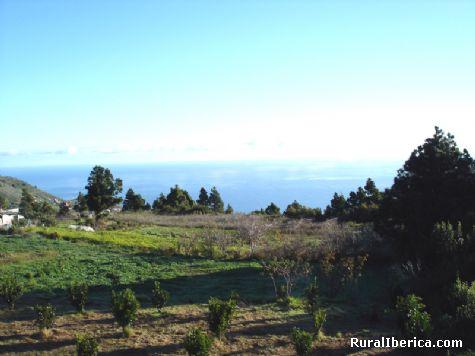 El Atlantico desde mis Naranjos. Puntallana-Tenagua - Puntallana-Tenagua, Santa Cruz de Tenerife, Islas Canarias