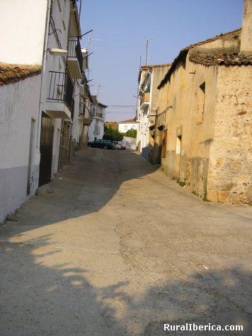 Calle de Cilleros. Cilleros, Cáceres - Cilleros, Cáceres, Extremadura
