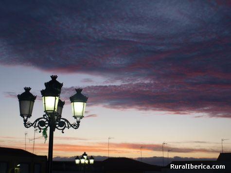 anochecer en Palomas - PALOMAS, Badajoz, Extremadura