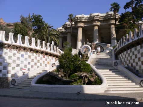 parc güell - Barcelona, Barcelona, Cataluña
