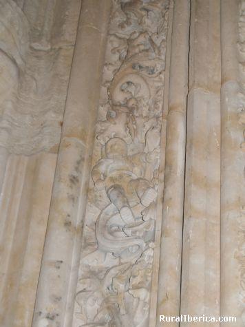 Detalle de la Catedral Nueva (Astronauta). Salamanca, Castilla y León - Salamanca, Salamanca, Castilla y León
