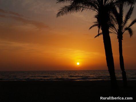 Amanece en Playa de San Juan - Alicante, Alicante, Comunidad Valenciana