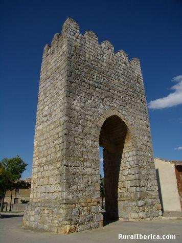 Puerta de San Mart�n. Astudillo, Palencia. - Astudillo, Palencia, Castilla y Le�n