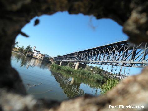 Puente de hierro de ferrocarril - Zamora, Zamora, Castilla y León