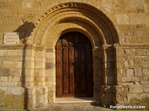 Iglesia románica. Támara de Campos, Palencia. - Támara de Campos, Palencia, Castilla y León