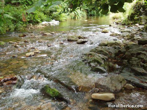 Rio Navelgas a su paso por Foyedo - Navelgas, Asturias, Asturias
