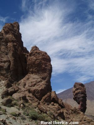 Paisaje del Parque Natural del Teide - Tenerife, Santa Cruz de Tenerife, Islas Canarias