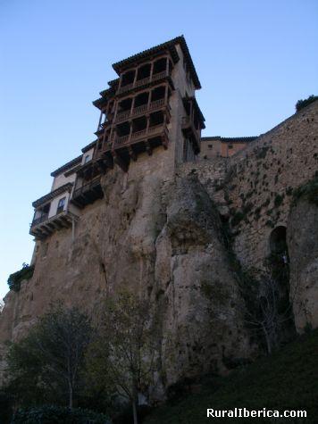 Casas colgadas en Cuenca. Cuenca, Castilla la Mancha - Cuenca, Cuenca, Castilla la Mancha