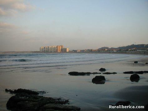 Vista Playa Salinas. Salinas, Asturias - Salinas, Asturias, Asturias