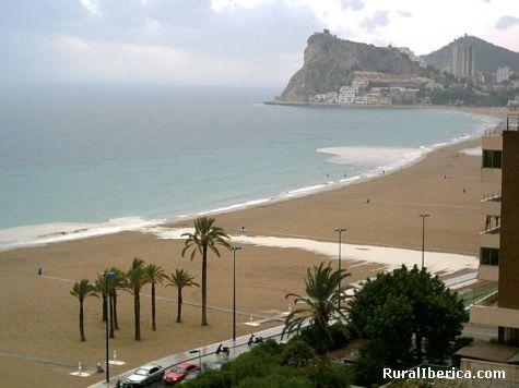 Tormenta en Benidorm. Benidorm, Alicante - Benidorm, Alicante, Comunidad Valenciana