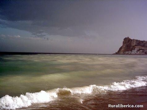 Benidorm tras la tormenta (Poniente). Benidorm, Alicante - Benidorm, Alicante, Comunidad Valenciana