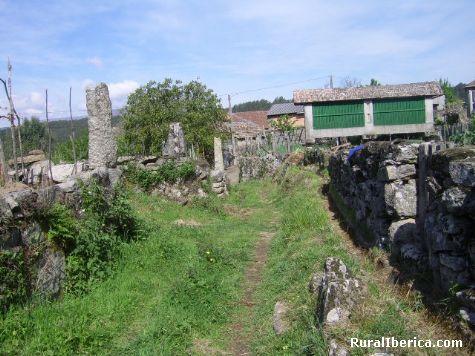 Camno vecinal de Louredo(cortegada de baños,ourense) - louredo(cortegada de baños,ourense), Orense, Galicia