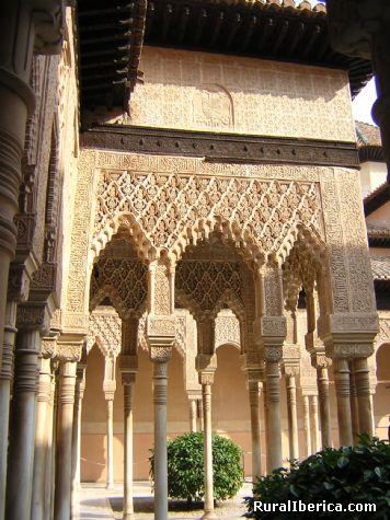 Fotos Templete Del Patio De Los Leones Alhambra Granada