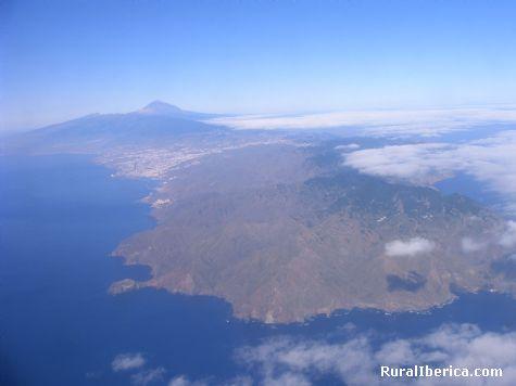 Vista aérea de Tenerife - Tenerife, Santa Cruz de Tenerife, Canarias