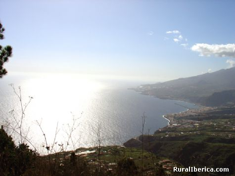 La Palma desde la Montaña. Tenagua - Tenagua, Santa Cruz de Tenerife, Islas Canarias