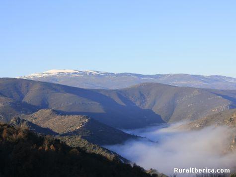Entre la niebla y la nieve - Lentellais, Orense, Galicia