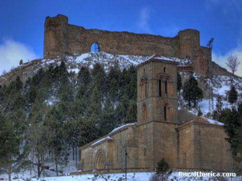 Iglesia y castillo - Aguilar de Campoó, Palencia, Castilla y León