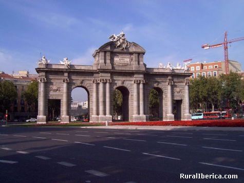 La Puerta de Alcalá. Madrid - Madrid, Madrid, Madrid
