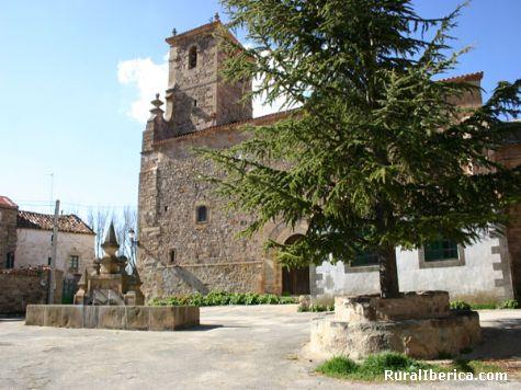 Iglesia - Aldeaseñor, Soria, Castilla y León