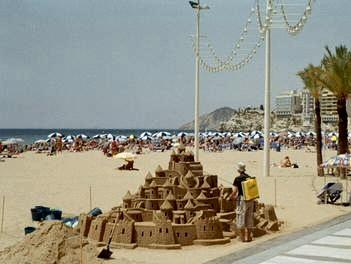 Alicante, Castillo en la playa - Alicante, Comunidad Valenciana