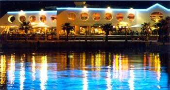 Vista nocturna del Puerto de Alicante - alicante, comunidad valenciana