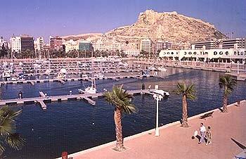 Puerto deportivo de Alicante, Comunidad Valenciana - alicante, comunidad valenciana