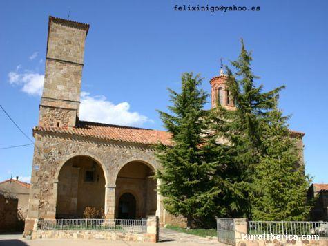 Iglesia - Almajano, Soria, Castilla y León