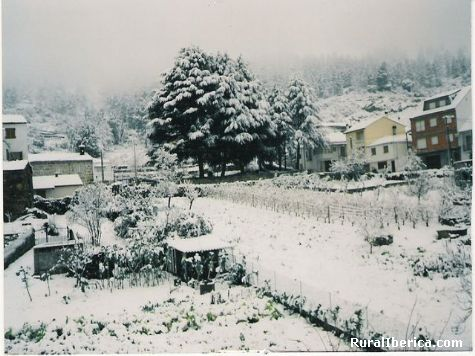 Seadur con neve - seadur, Orense, Galicia