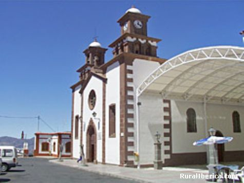 Iglesia de Artenara. - Artenara., Las Palmas, Islas Canarias