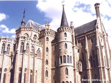 Palacio episcopal de Astorga (Gaudí) - Astorga, León, Castilla y León