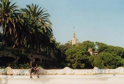 Barcelona, Parque Guell - Barcelona, Cataluña