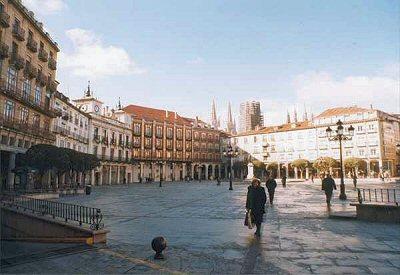 Burgos, Plaza Mayor - Burgos, Castilla y León