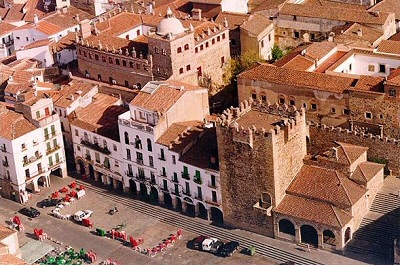 Cáceres, Torre Bujaco y Palacio Moctezuma - Cáceres, Extremadura