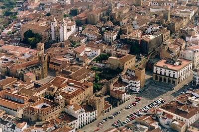 Cáceres, Plaza Mayor - Cáceres, Extremadura