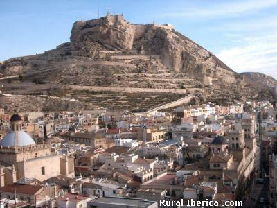 Castillo de Alicante - Alicante, Alicante, Comunidad Valenciana
