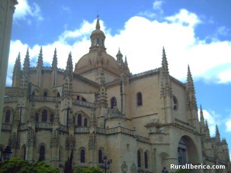 La Catedral de Segovia por Charlie - madrid, Madrid, Madrid