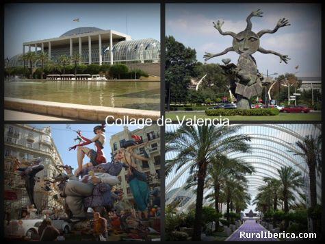 Collage. Valencia, Comunidad Valenciana - Valencia, Valencia, Comunidad Valenciana